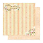 Best Creation Inc - A Little Dream Collection - 12 x 12 Double Sided Glitter Paper - Culture