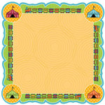 Best Creation Inc - Loops and Scoops Collection - 12 x 12 Die Cut Glitter Paper - Trains and Games