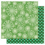 Best Creation Inc - Merry Christmas Collection - 12 x 12 Double Sided Glitter Paper - Spark
