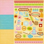 Best Creation Inc - Mom's Kitchen Collection - Glitter Cardstock Stickers - Combo