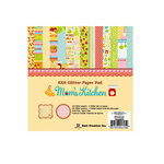 Best Creation Inc - Mom's Kitchen Collection - 6 x 6 Glittered Paper Pad