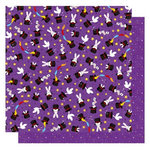 Best Creation Inc - Magic Show Collection - 12 x 12 Double Sided Glitter Paper - Magic Trick
