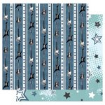 Best Creation Inc - Rock Star Collection - 12 x 12 Double Sided Glitter Paper - Rock Stars