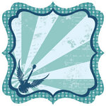 Best Creation Inc - Rock Star Collection - 12 x 12 Die Cut Glitter Paper - Spirit In The Sky