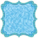 Best Creation Inc - Splash Fun Collection - 12 x 12 Die Cut Glitter Paper - Wipe Out