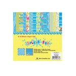 Best Creation Inc - Splash Fun Collection - 6 x 6 Paper Pad