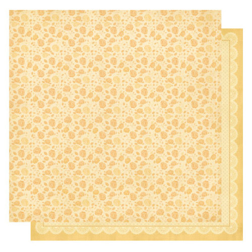 Best Creation Inc - Sew Pretty Collection - 12 x 12 Double Sided Glitter Paper - Vintage Roses