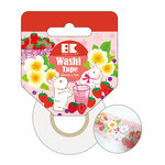 Best Creation Inc - Washi Tape - Strawberry - 30mm