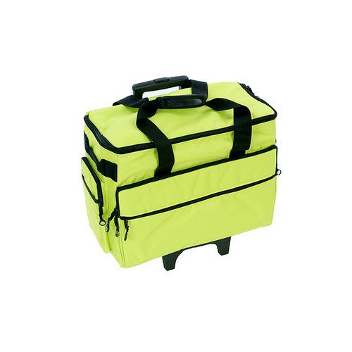 Bluefig Green Wheeled Sewing Machine Carrier Gorgeous Bluefig Tb19 Sewing Machine Trolley