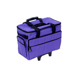Bluefig - Wheeled Sewing Machine Carrier - Purple