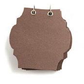 Basic Grey - Chocolate Chip - Chipboard Album - Capital - Milk Chocolate