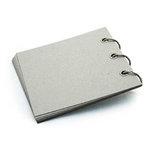 BasicGrey - Chipboard Album - 6x6 - Quarter Pint Ring Album