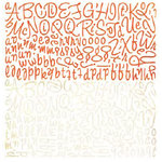 BasicGrey - Ambrosia Collection - 12x12 Alphabet Stickers, BRAND NEW