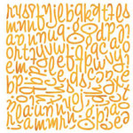 BasicGrey - Ambrosia Collection - Mini Monogram Stickers - Wilma