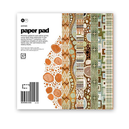 BasicGrey - Archaic Collection - 6x6 Paper Pad