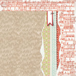 BasicGrey - Aspen Frost Collection - Christmas - 12 x 12 Double Sided Paper - Through the Snow