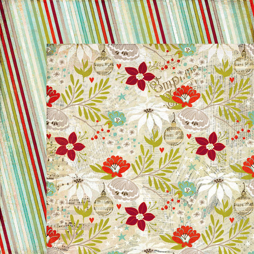 BasicGrey - Aspen Frost Collection - Christmas - 12 x 12 Double Sided Paper - Copper Kettles