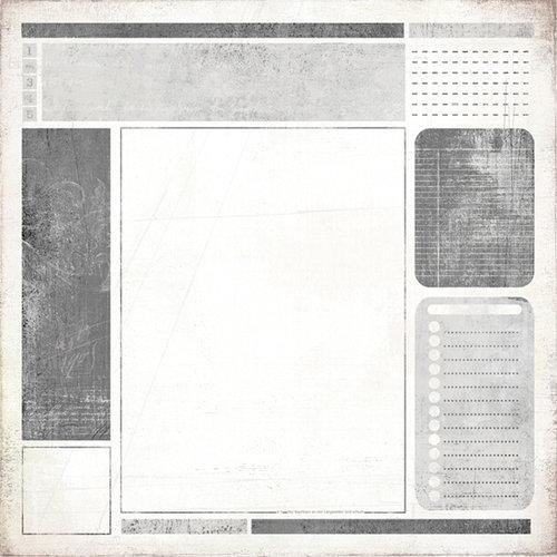 BasicGrey - Basic White Collection - 12 x 12 Paper - Bloc