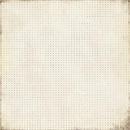 BasicGrey - Basic Manila Collection - 12 x 12 Paper - Docket