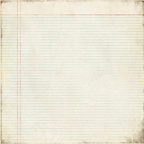 BasicGrey - Basic Manila Collection - 12 x 12 Paper - Blueline