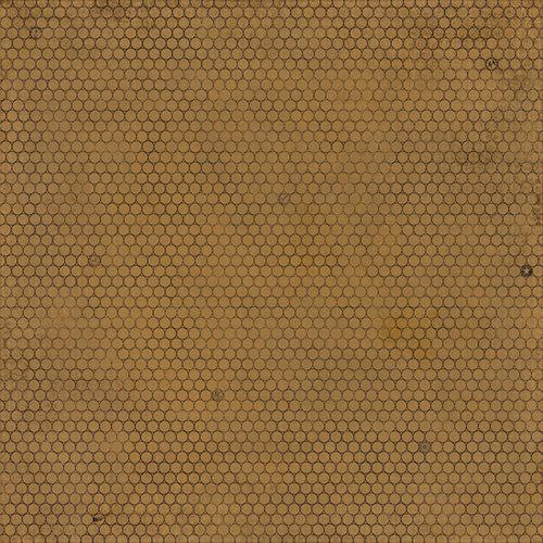 BasicGrey - Basic Kraft Collection - 12 x 12 Paper - Poll