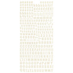 BasicGrey - Basic Manila Collection - Micro Monogram Stickers