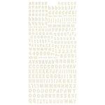 BasicGrey - Basic Manila Collection - Micro Monogram Stickers
