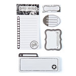BasicGrey - Basic White Collection - Writer's Block - Journaling Sets