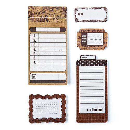BasicGrey - Basic Kraft Collection - Writer's Block - Journaling Sets