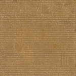 BasicGrey - Basic Kraft Collection - 12 x 12 Paper - Dialect