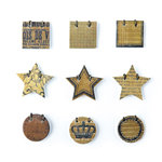 BasicGrey - Basic Kraft Collection - Small Details - Decorative Stickers - Fasteners