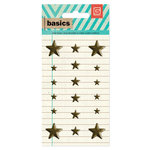 BasicGrey - Basics Collection - Metal Studs - Brass Stars