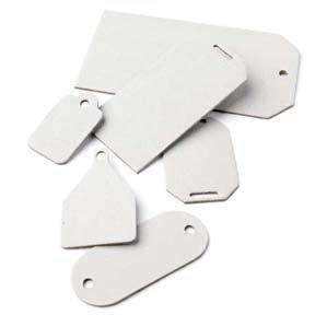 BasicGrey Undressed Chipboard Tags