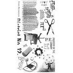 BasicGrey - Rub Ons - Academic Black, CLEARANCE