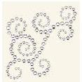 BasicGrey - Bling It Collection - Rhinestones - Designer Swirl - Diamond