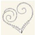 BasicGrey - Bling It Collection - Rhinestones - Designer Heart - Diamond