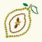 BasicGrey - Bling It Collection - Rhinestones - Designer Lemon
