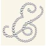 BasicGrey - Bling It Collection - Rhinestones - Designer Ampersand - Diamond, CLEARANCE
