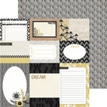 BasicGrey - Barista Collection - 12 x 12 Double Sided Paper - Journal Cards
