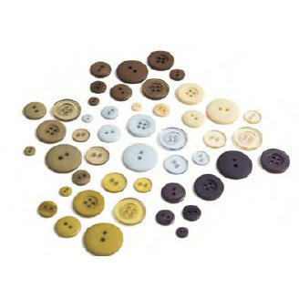 BasicGrey - Granola Collection - Buttons