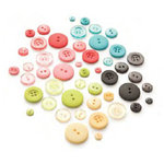 BasicGrey - Urban Prairie Collection - Buttons