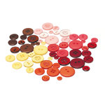 BasicGrey - Indian Summer Collection - Buttons, CLEARANCE