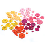 BasicGrey - Green at Heart Collection - Buttons