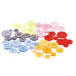 BasicGrey - Sugar Rush Collection - Buttons, CLEARANCE