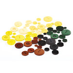 BasicGrey - Origins Collection - Buttons, CLEARANCE