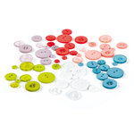 BasicGrey - Olivia Collection - Buttons, CLEARANCE
