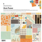 BasicGrey - Carte Postale Collection - 12 x 12 Collection Pack