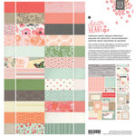 BasicGrey - Dear Heart Collection - 12 x 12 Collection Pack