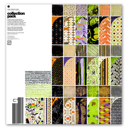 BasicGrey - Eerie Collection - Halloween - 12 x 12 Collection Pack