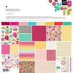 BasicGrey - Knee Highs and Bow Ties Collection - 12 x 12 Collection Pack - Knee Highs